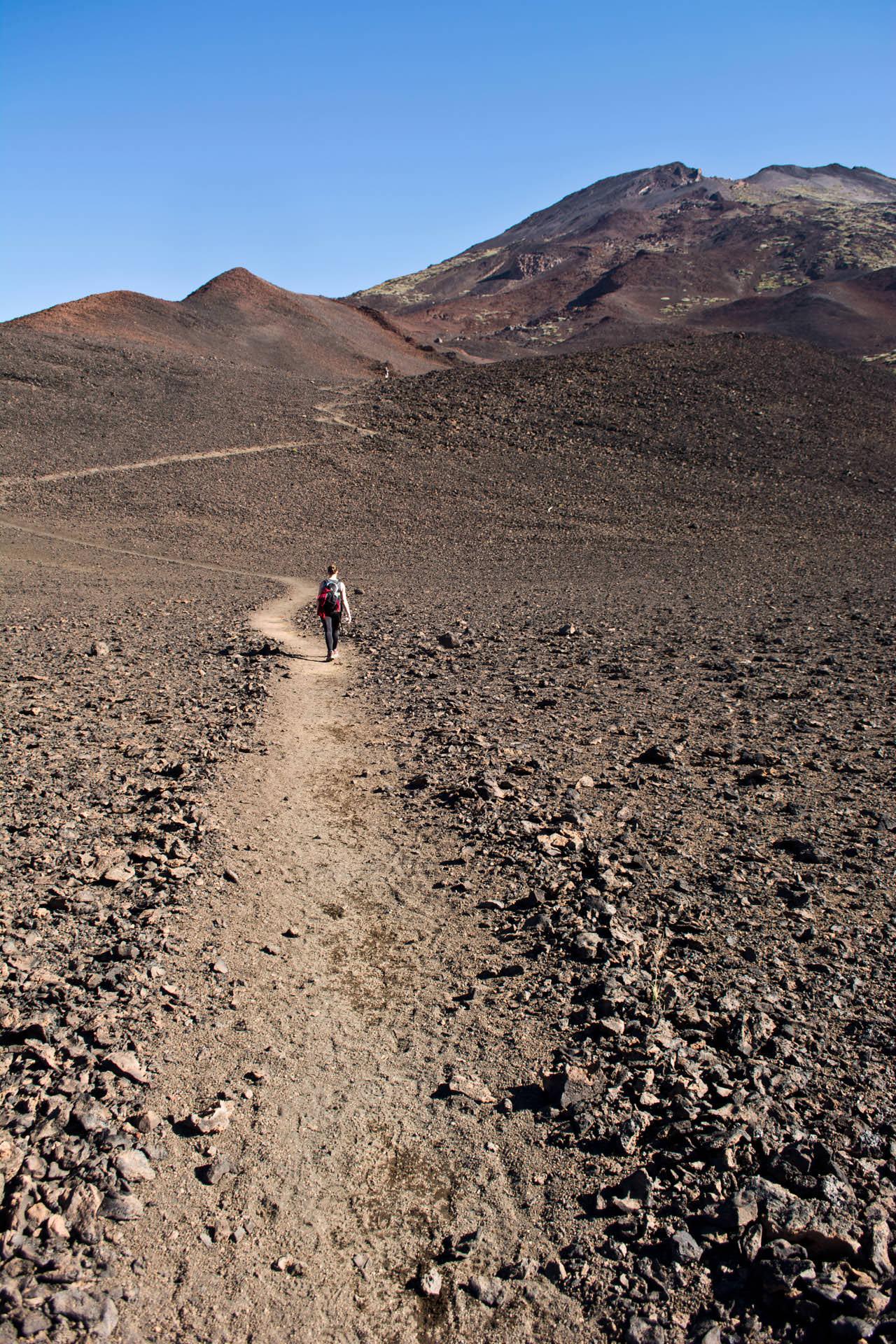walk to pico viejo